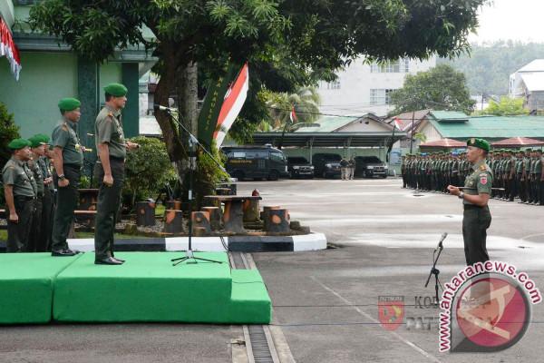 Mayjen TNI Suko Pranoto Terima Estafet Kepemimpinan