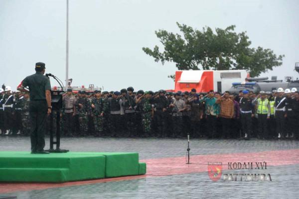 TNI/Polri gelar apel pasukan pengamanan Presiden