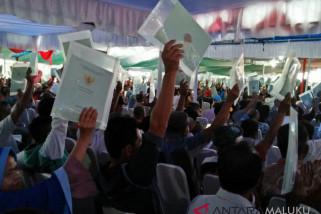 Tanah bersertifikat di Maluku 14 persen
