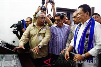 Ketua DPR resmikan studio rekaman di Ambon