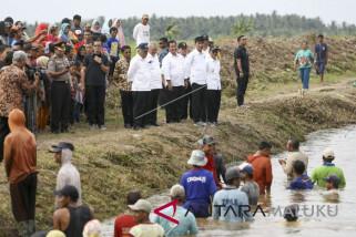 Program padat karya infastruktur di Morotai rampung