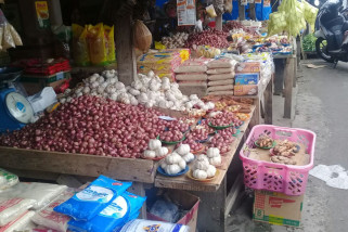 Harga bawang di Ambon bergerak naik