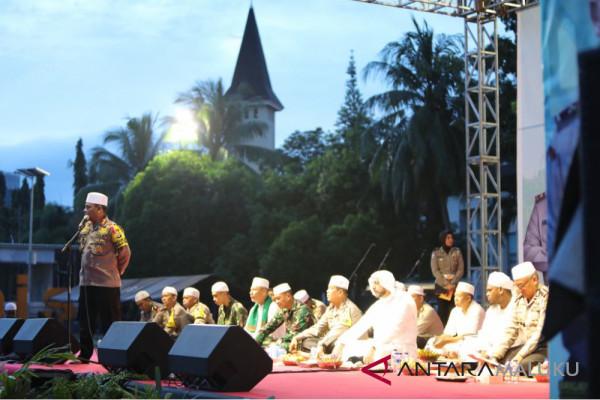 Polda Maluku gelar tabligh akbar