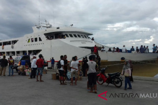 Aktivitas pelayaran di Ternate normal
