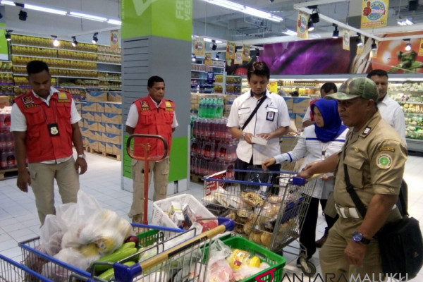 Harga pangan di pasar modern Ambon stabil