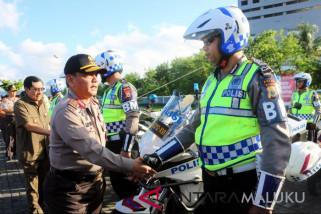 Polda Maluku lakukan penyekatan sejumlah ruas jalan
