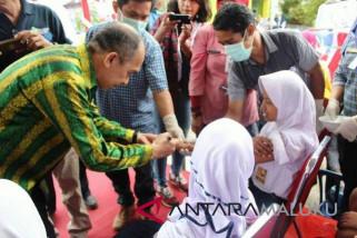 Gubernur : seluruh anak Maluku harus diimunisasi MR