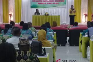 Dinkes Maluku sosialisasi pelayanan kesehatan gugus pulau