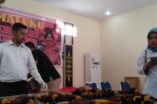 Ditreskrimsus Polda Maluku ungkap jaringan penjual cendrawasih