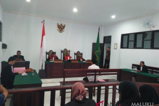 Hakim vonis terdakwa narkoba lima tahun penjara