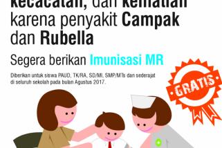 Dinkes Ambon target 114.356 anak imunisasi MR