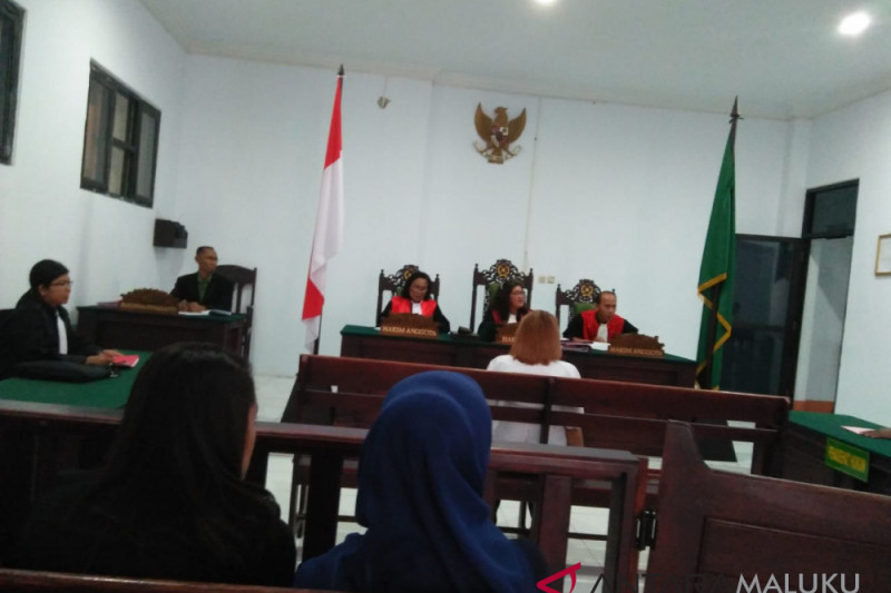 Hakim vonis pegawai BRI dua tahun penjara