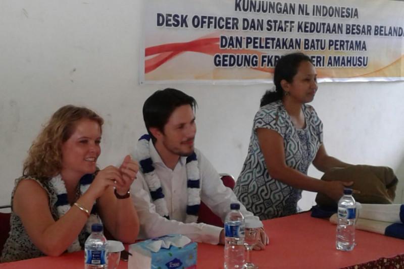 Staf Kedutaan Belanda kunjungi FKPM Amahusu