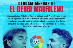 Derbi La Liga: Real Madrid vs Atletico Madrid