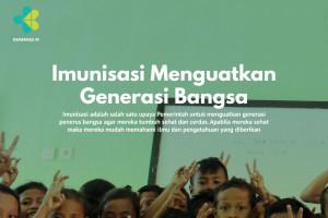 Imunisasi Menguatkan Generasi Bangsa