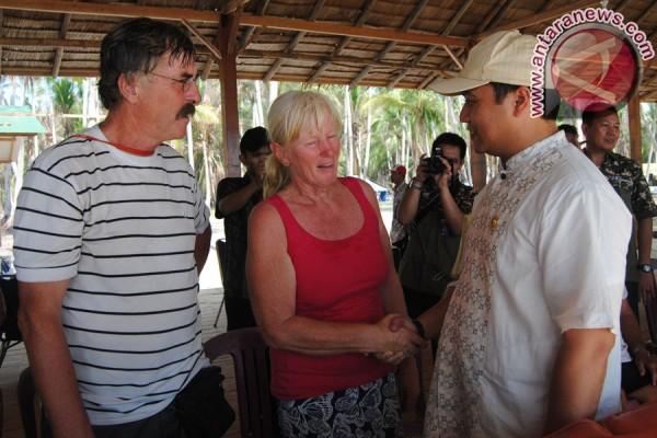 Rombongan Sail Morotai disambut Bupati Bangka tengah