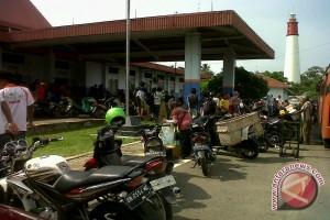 Pelabuhan Tanjungkalian Muntok Mulai Lengang