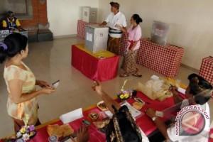 Sejumlah TPS di Bangka Tengah Sepi