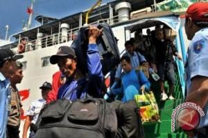 Dishub Babel: Penumpang Kapal Laut Turun