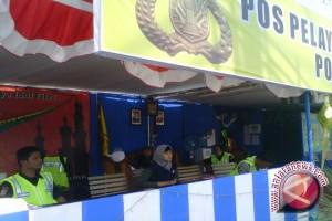 Polres Pangkalpinang Jaga Pos Pengamanan 24 Jam