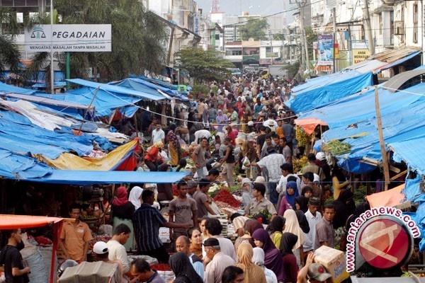Dinas Pangan Kabupaten Bangka Uji Pangan di Pasar Belinyu