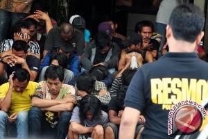 Polisi Amankan Delapan Preman Pelabuhan Tanjungkalian Muntok