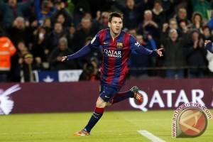 Lionel Messi Pencetak Gol Terbanyak Liga Spanyol
