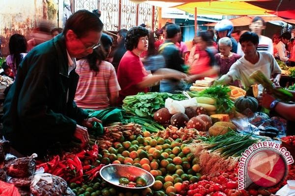 KUPT Sungailiat Tingkatkan Pungutan Retribusi Pedagang Pasar
