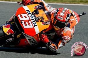 Marquez Terdepan, Rossi Kedua pada Kualifikasi GP Ceko