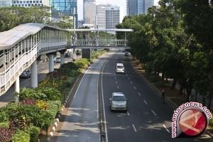 Jalanan Jakarta Lengang
