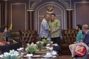 Pertemuan Pimpinan KPK - MK