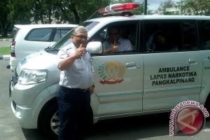 Bantuan Ambulan ke Lapas Narkotika Pangkalpinang