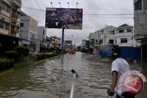 200 Rumah Warga Parit Pekir Terendam Banjir