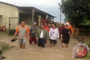 Gubernur Babel Pantau Banjir