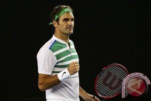 Federer Raih Gelar Halle Terbuka Kesembilan Kalinya