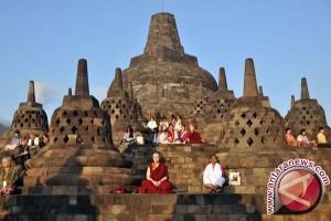 254 Personel Gabungan Amankan Borobudur Selama Lebaran