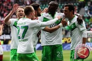 Menang 3-1, Wolfsburg Kirim Stuttgart ke Divisi Dua