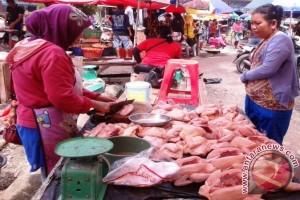 Harga Daging Ayam di Pangkalpinang Turun