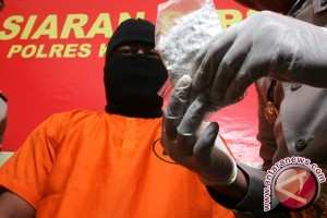 Polres Bangka Tengah Tangkap Pengedar Narkoba