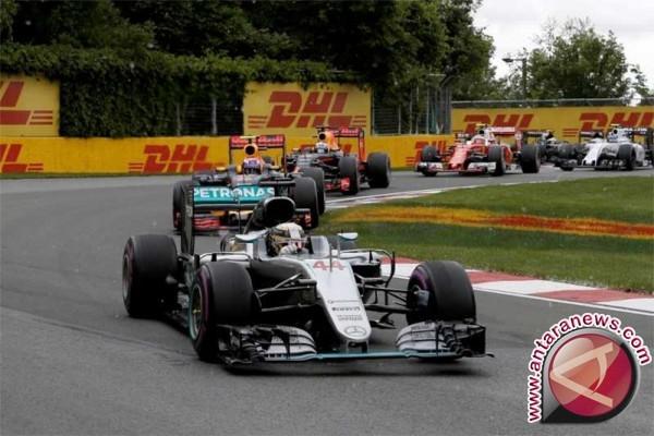 Hamilton teratas di latihan pembuka Formula 1