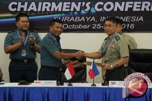 Panglima Armada Timur TNI AL Sepakati Kerja Sama Perbatasan Indonesia-Filipina