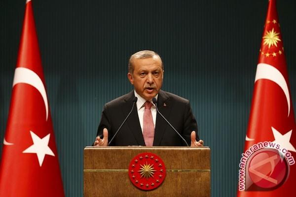 Sejumlah pemimpin dunia ucapkan selamat atas sukses Erdogan