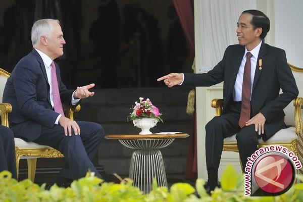 Presiden dan PM Turnbull lakukan pertemuan bilateral