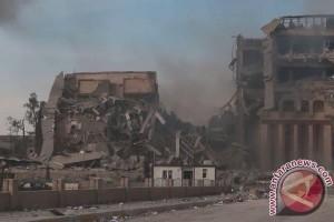 Pusat Komando ISIS di Irak Dikabarkan Hancur