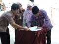 PT Timah (Persero) Tbk dan Pemkab Bangka Provinsi Kepulauan Bangka Belitung meresmikan Tempat Pengelolaan Akhir (TPA)Belinyu dengan sistem sanitary landfill. (Foto Antara/Aprionis)