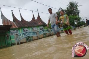 BPBD: Banjir Merata Terjadi di Padang