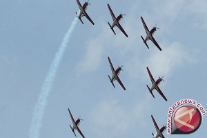 Jupiter Aerobatic Team TNI AU Tampil di Langkawi Malaysia