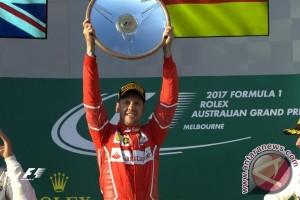 Menang di Melbourne, Ferrari Serasa di Bulan
