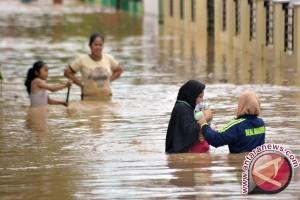 Banjir Landa Kawasan Lubuak Tarok Kabupaten Sijunjung
