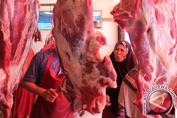 Omzet Pedagang Daging Sapi Pangkalpinang Merosot Sejak Pertengahan Ramadhan